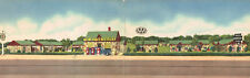 Springfield,MO.New Haven Court,Sinclair Gas,Rt.66,Linen,DOUB LE-WIDE,Used,1950