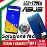 DISPLAY LCD+TOUCH SCREEN VETRO ASUS ZENFONE 5 ZE620KL X00QD X00QSA Z00-RD NERO!!