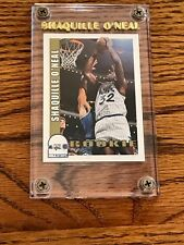 SHAQUILLE O'NEAL NBA HOOPS SKYBOX INTERNATIONAL CARD IN JEWEL CASE
