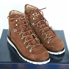 POLO RALPH LAUREN snuff brown suede Willis welted hiking work boots 10 US/43 NEW