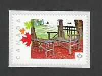 RETRO COTTAGE BENCH Picture Postage stamp MNH Limited Canada 2014 p82sn4