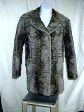 Vintage Rieger Der Konigliche Pelz Fur Coat Jacket Munchen Germany Womens Size M