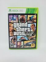 Grand Theft Auto V (Microsoft Xbox 360, 2013) Complete Map Manual Tested Works