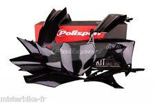 Kit plastiques Coque Polisport  Honda CRF 450 R 2013 2014 2015 Couleur: Noir
