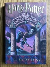 HARRY POTTER AND THE SORCERER'S STONE HB/DJ Early MINT 13th No #1 Spine