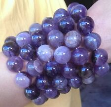 HUGE 16MM AURALITE 23 Crystal Bracelet Cacoxenite Amethyst Quartz Super Seven