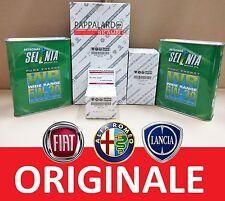 KIT FILTRI TAGLIANDO ORIGINALI + OLIO SELENIA FIAT DOBLO Cargo 1.3 MULTIJET 55KW