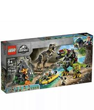 Lego 75938 Jurassic World T. rex vs Dino-Mech Battle Battle Toy T. Rex Figure