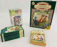 The Animals of Farthing Wood 12 x Books Video series 1 VHS Collection BBC Bundle