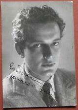 Autografi di personaggi del cinema e televisione da collezione