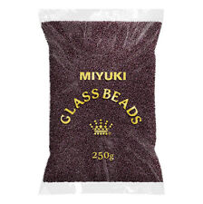 Wholesale Miyuki 15 Bead 15-13 F Matt Silver Lined DK smoky amethyst 250 g (n69/5)