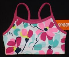 New girls GYMBOREE floral flowers sports bra Size 7/8