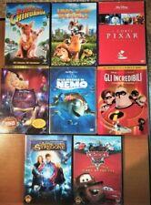 lotto 8 dvd di cartoni Disney