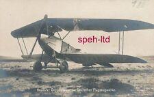 Originale Sanke Karte /  Neuester Doppeldecker der Deutschen Flugzeugwerke