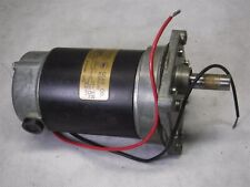 Used Von Weise Gear Motor V03710AB80 90Volt DC .4 AMPS 1/25HP 1900RPM 59:1 H10