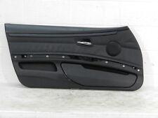 OEM BMW 335 3 Series E92 E93 COUPE LEFT DRIVER BLACK Door Panel 2007-2011