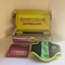 Set Zumba Light Weight Toning Sticks+ Fitness Belt for Wii+ Target Zones 3 DVDs