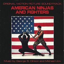 AMERICAN NINJAS & FIGHTERS / George S.Clinton & Michael Linn / Rare CD