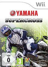 Wii Spiel Yamaha Supercross Motorradrennen deutsche Version Neuware