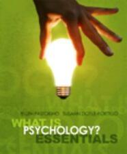 What is Psychology? Essentials, Doyle-Portillo, Susann M, Pastorino, Ellen E., G