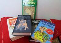 5 Bücher - 2x  Thema Latein + E. Roth + A. Schnitzler usw., von 1950-2001  /S118