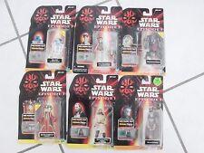 Star Wars Episode 1 Comm Tech Chip lot of 6  Qui Gon Jinn Destroyer Droid R2-D2