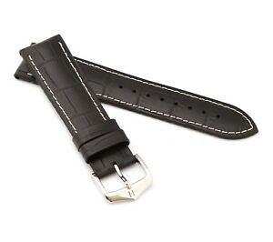 """HIRSCH Performance Watch Band """"George"""", 20-24 mm, 4 colors, new!"""