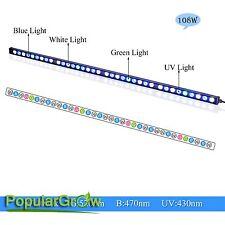 108W LED Aquarium light strip bar waterproof IP65 Coral reef Fish Tank lighting