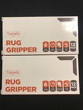 24 pack Rug Gripper Tumelu Anti Curling Carpet Tape New ** Free Shipping**