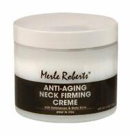 Merle Roberts Anti Aging Neck Firming Creme Cream 4 Oz (113g)