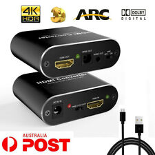 4K 60Hz HDMI 2.0 Audio Extractor 5.1 ARC Splitter Optical TOSLINK SPDIF+3.5mm