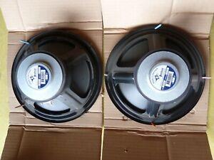 """peerless 10"""" woofer speakers pair model #831759  denmark  unused new old stock"""