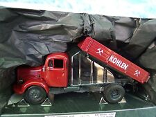 """1/43  Minichamps 1950 Mercedes L3500 """"Kohlen"""" Tipper Dump Truck"""
