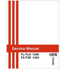 ACS SERVICE REPAIR & REBUILD MANUAL FOR HARLEY 1970-76 FL &1971-77 FX SHOVELHEAD