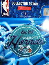 Official Licensed NBA Charlotte Hornets 1988 Inaugural Iron or Sew On Patch