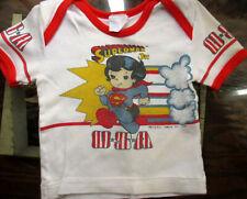 1T 12m BOYS/GIRLS Vtg 80s SUPERMAN JR Graphic T-shirt 1984 d.c. comics