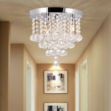 Chandelier Crystal Indoor Lighting lamp 3 Lights Flush Mount Ceiling Light Home