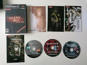 Jeu rare PS2 The Silent Hill Collection Complet FR TBE