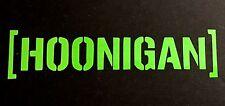 HOONIGAN DECAL STICKER EURO SUV CHEVY FORD HONDA VW DODGE JDM WINDOW CAR TRUCK