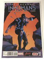 THE UNCANNY INHUMANS #0 MARVEL COMICS BLACK BOLT SUPER HERO COMIC BOOK MCNIVEN
