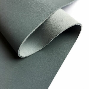 Genuine GRAY Leather Sheet 12x18in/30x45cm 2.25oz/0.9mm Bright MONUMENT 647