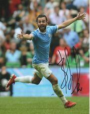 Manchester City Bernardo Silva Autographed Signed 8x10 Photo Coa #3