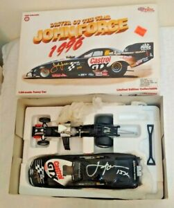 1997 Action Mustang 1:24 Die Cast JOHN FORCE MIB Autographed Signed NHRA Castrol