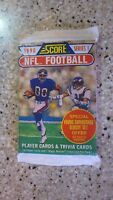 1 - 1990 NFL Pro Set Series I Sealed Trading Card Pack Football