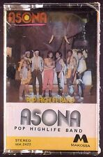 Asona-Pop Highlife Band LP CASSETTE AFRO SEALED OOP RARE