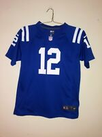 Nike NFL On Field Andrew Luck Indianapolis Colts Youth Large Football Jersey EUC