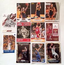 11-Card Lot Stephen Steph Curry (2) 2009-10 Panini RC Rookie Davidson All-Star