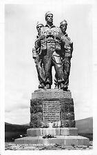 POSTCARD  MILITARY   SPEAN  BRIDGE   The  Scottish  Commando    Memorial