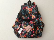 NWT Lesportsac Rifle Paper Co. Marion Floral VOYAGER BACKPACK Limited Edition