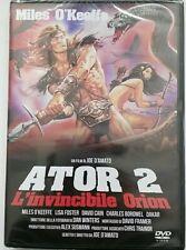 Ator 2 - L'Invincibile Orion (Dvd - Quadrifoglio) Nuovo e Sigillato